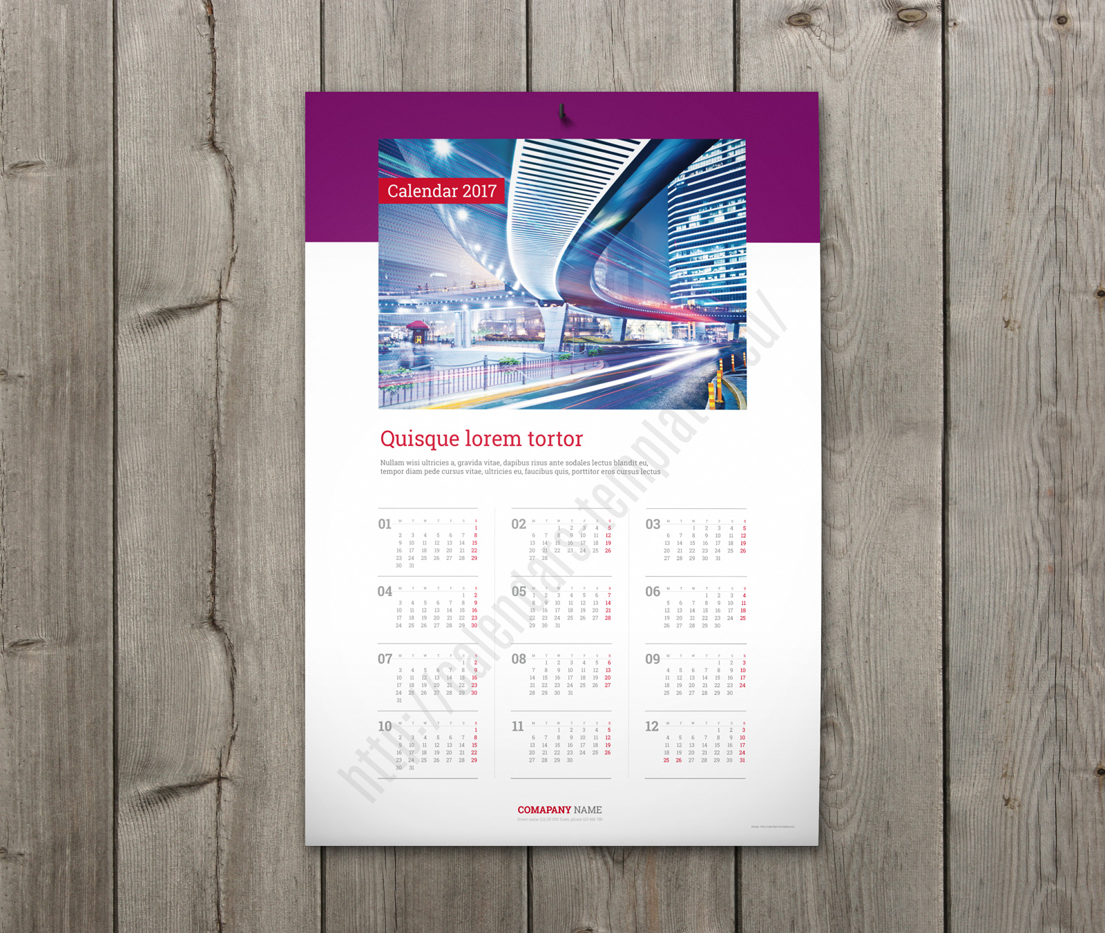 Year Calendar Wall : Best custom wall calendar template yearly one page