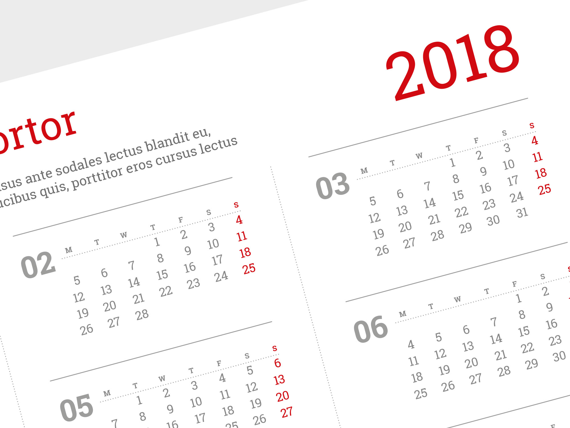Calendar Poster Template : Best custom wall calendar template yearly one page