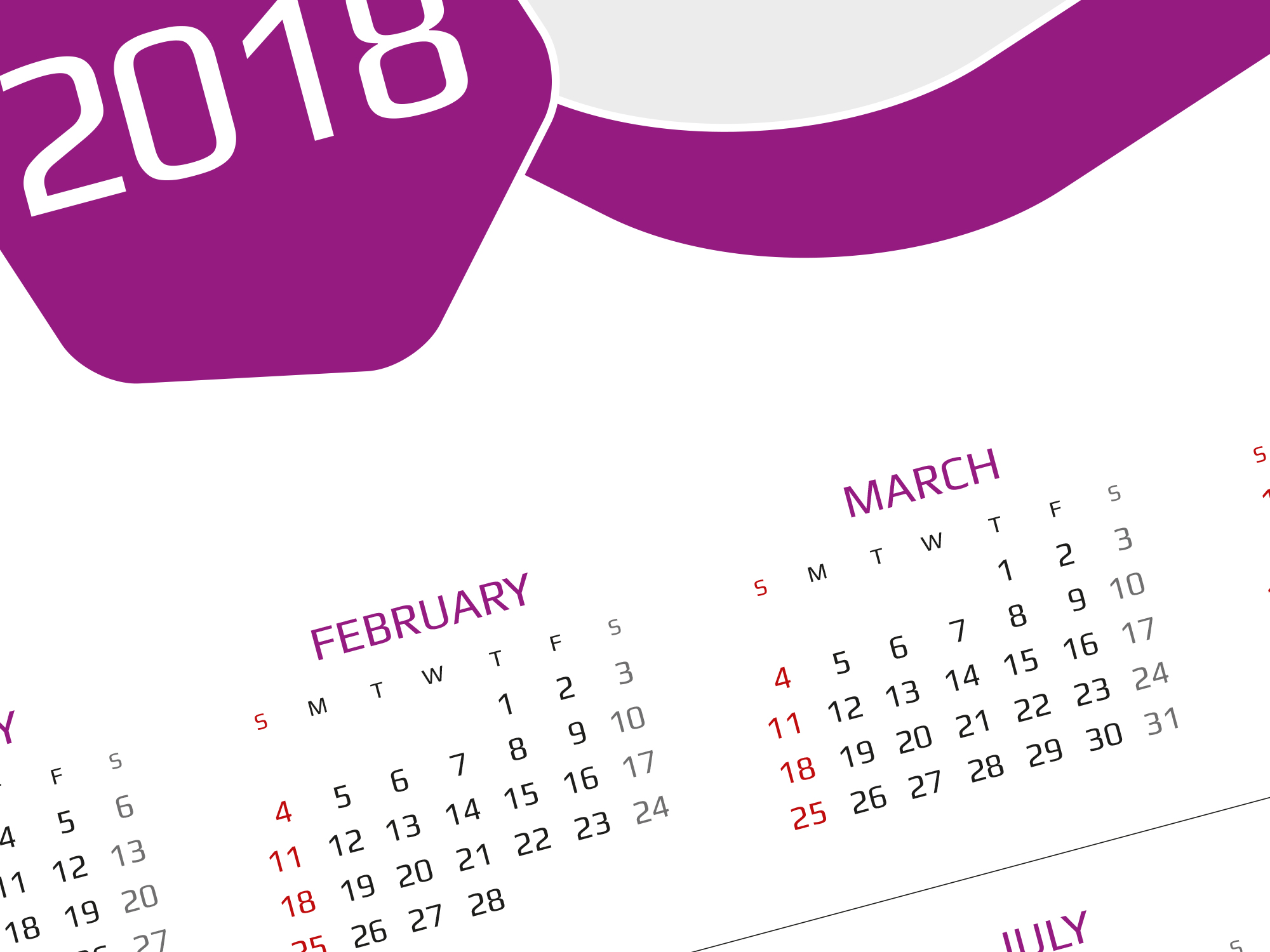 Calendar Poster Template : Calendar download this best template for poster wall