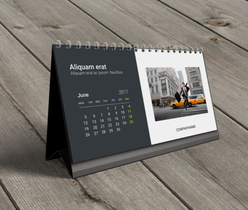 1 Maiden Lane 5th Floor Law Firm Desk Tent Calendar
