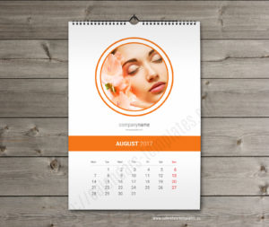 yearly monthly calendar template august