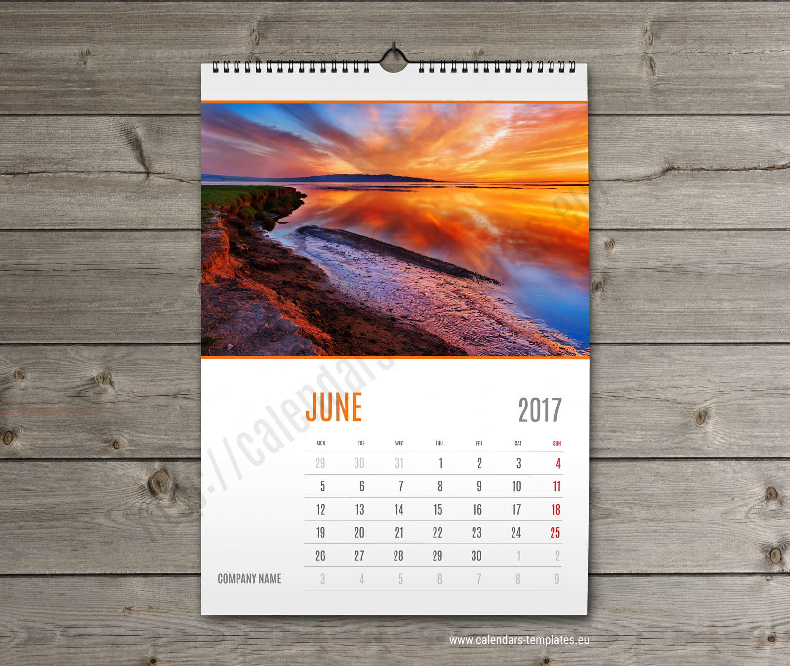 Calendar Design Wallpaper : Wall calendar template monthyly yearly custom