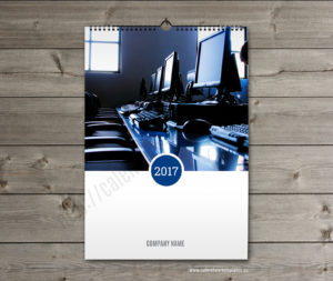 Business calendar. photo custom calendar
