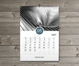 Business calendar. photo custom calendar may