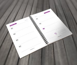 printable daily calendar template