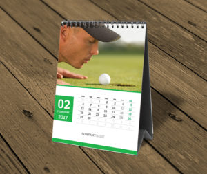 custom table calendar with photo