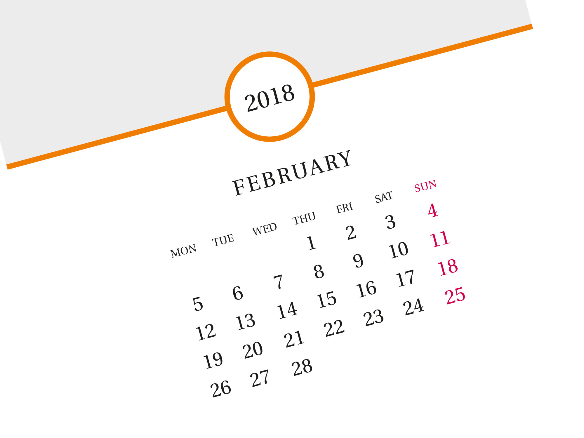 best month calendar template 2018 custom printable photo calendar. Black Bedroom Furniture Sets. Home Design Ideas