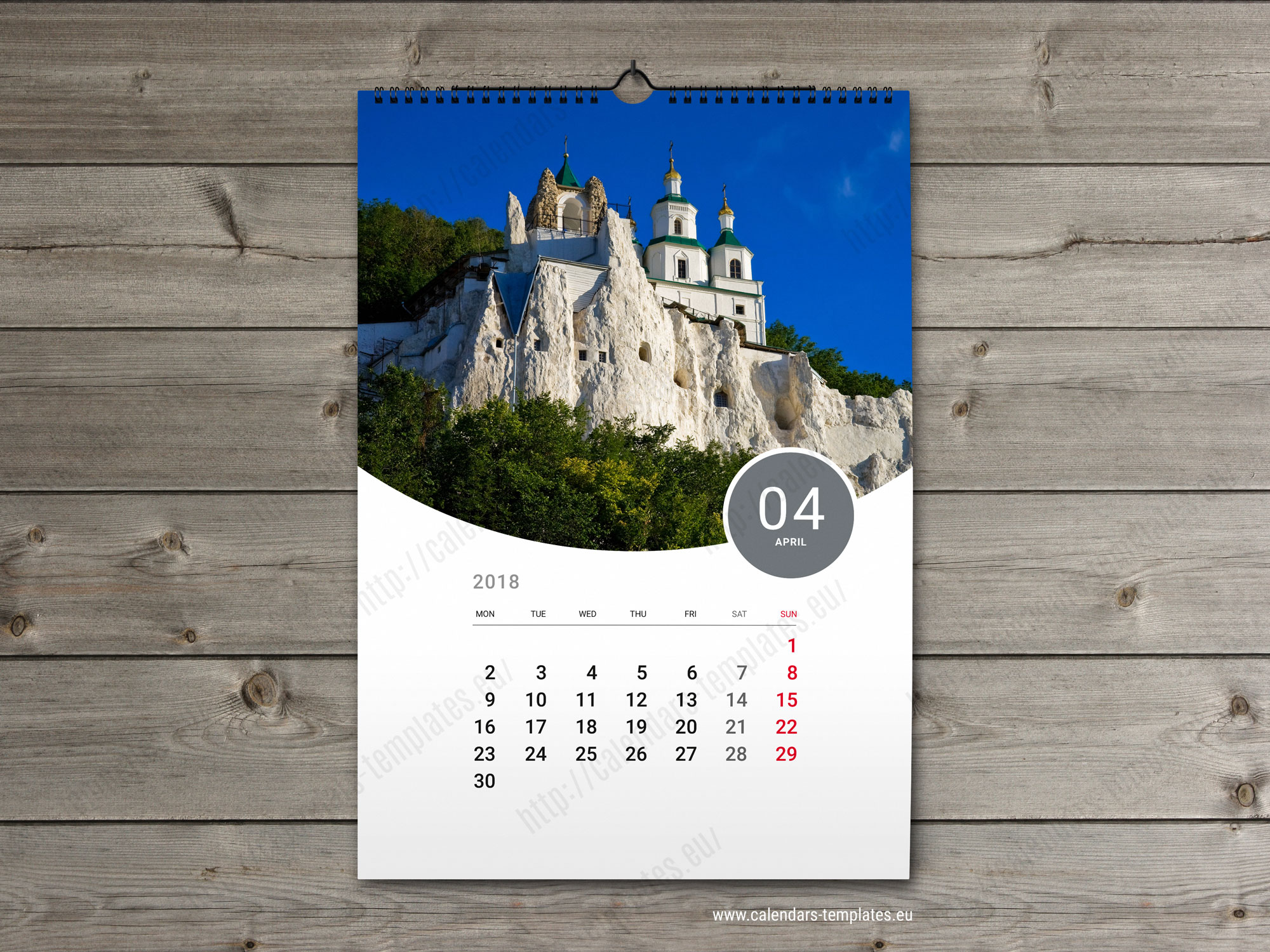 BEST Custom Calendar. Printable photo calendar A3 A2 PDF format