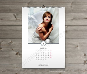 photo vertical month calendar