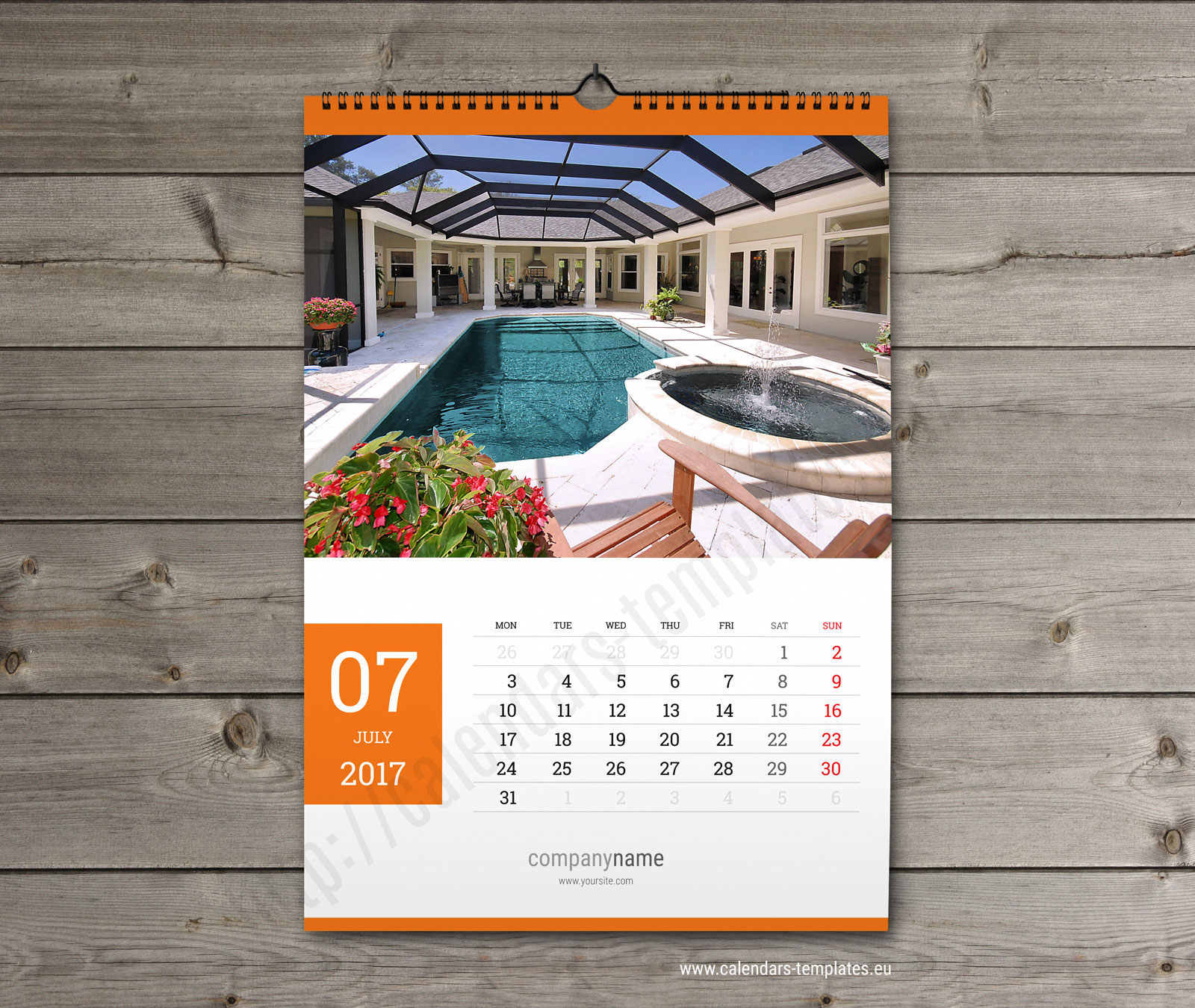 Calendar Design Pictures : Calendar template printable pdf wall a and