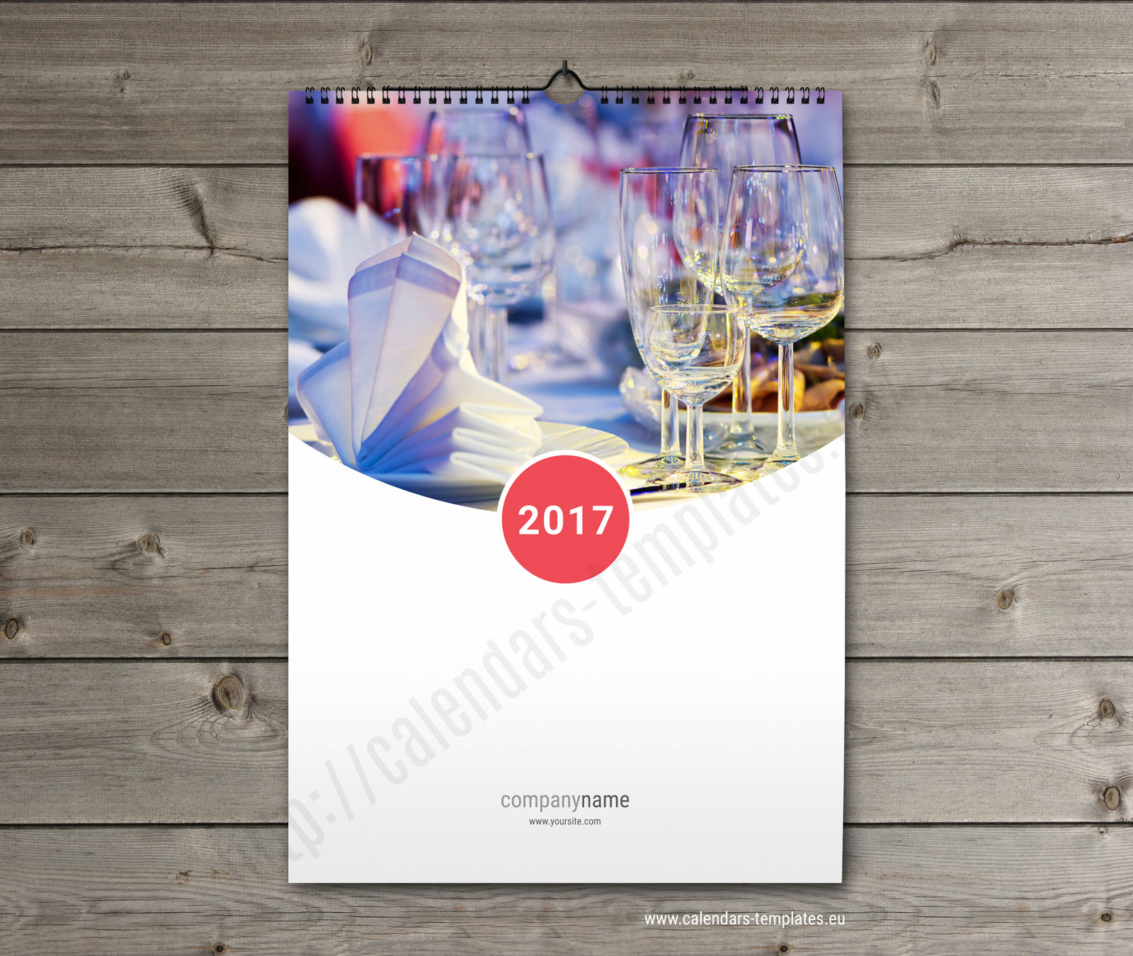 Wall calendar design template free download : Wall monthly printable multipage calendar template kw