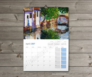 printable monthly wall planner calendar template