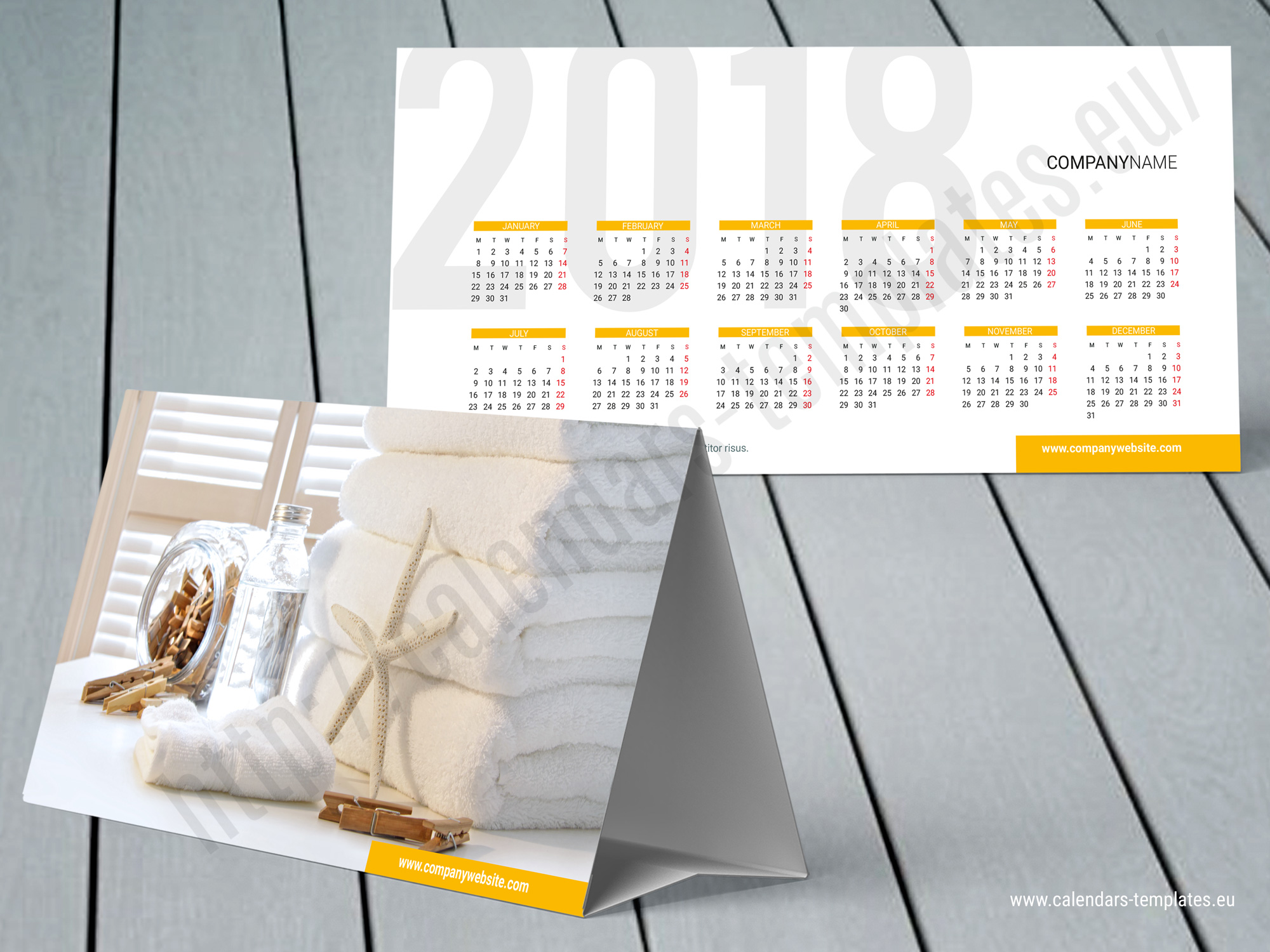 Custom Tent Calendar 2018 Desk Photo Template  sc 1 st  Desk Design Ideas & Desk Tent Calendar | Desk Design Ideas