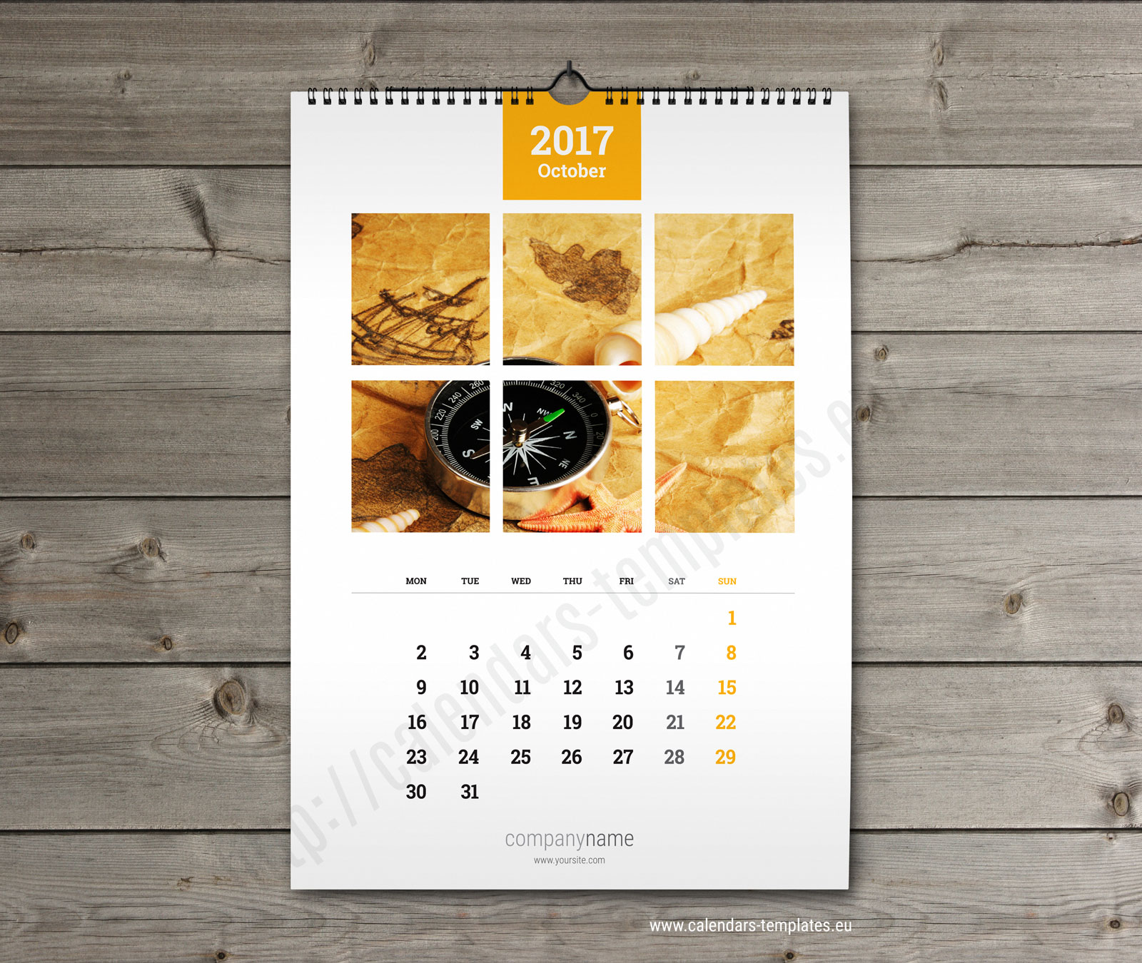 Wall Calendar Design Templates : Wall calendar a printable photo yearly monthly