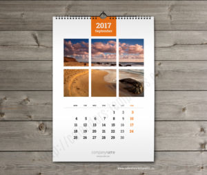 printable monthly custom wall calendar a3 template