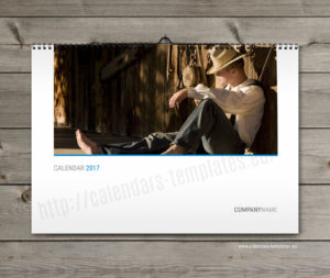 printable monthly 2018 year wall calendar template