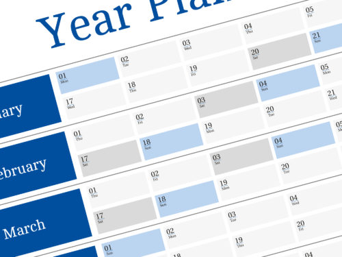 yearly planners 2018 templates wall planners 2018 templates