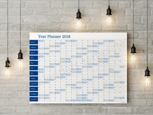 free yearly planner
