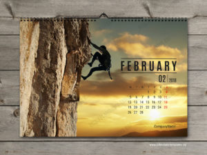 printable monthly photo calendar template