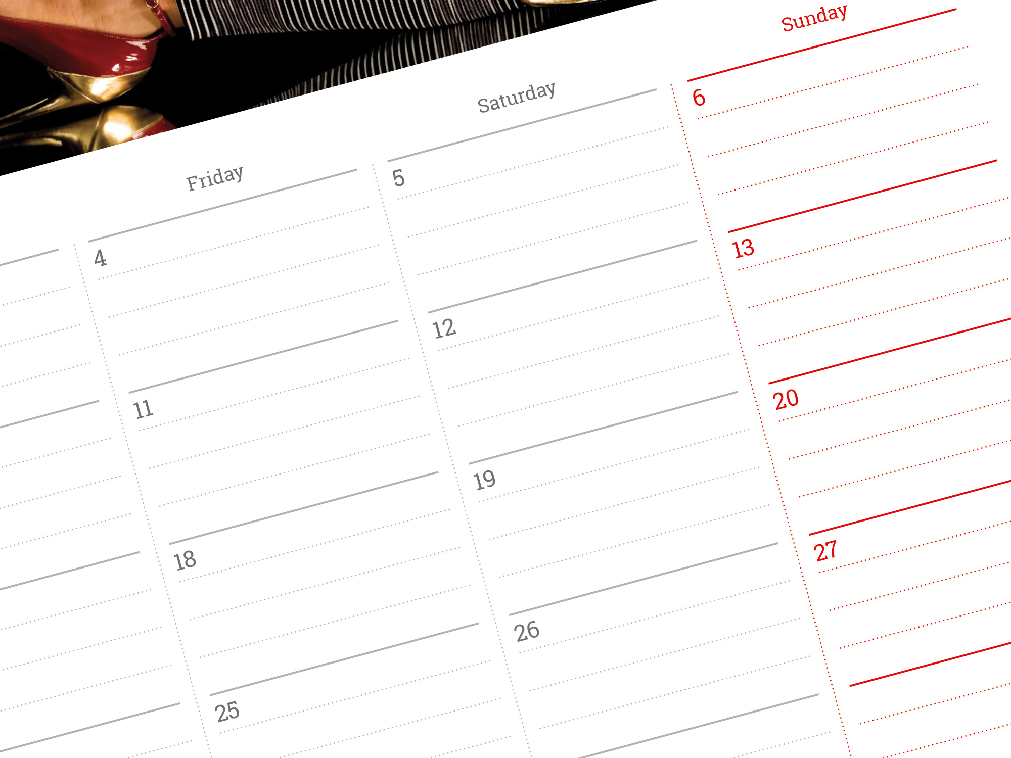 Printable Monthly Calendar 2019 Photo Calendar Template