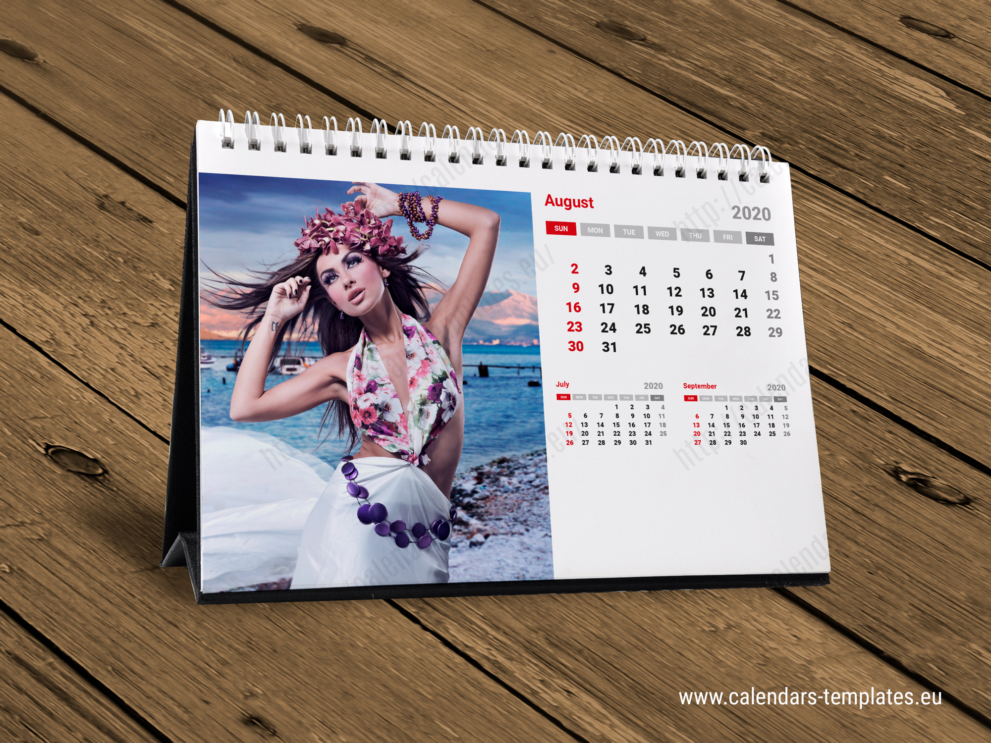2020 Desk Monthly Calendar KB10-W1
