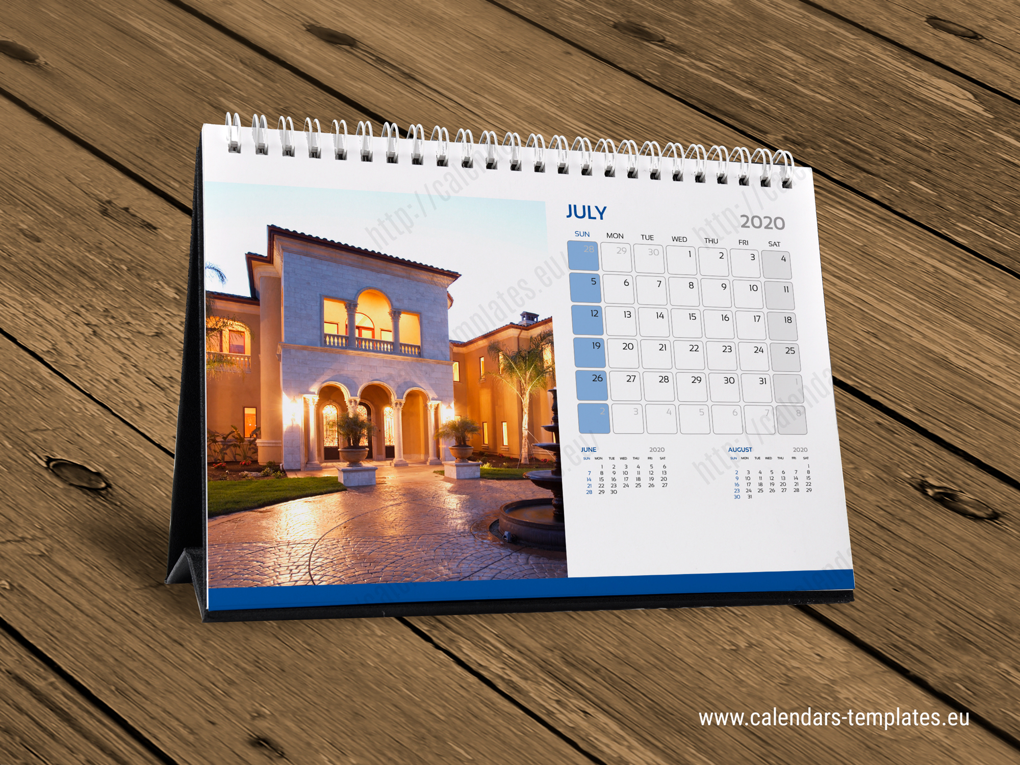 2020 Desk Monthly Calendar KB10-W5