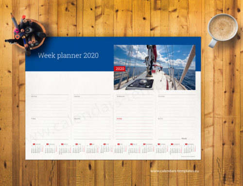 2020 Weekly planner PT-W11